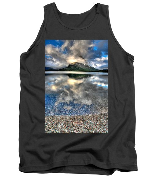 Tank Top featuring the photograph Cloud Catcher by David Andersen