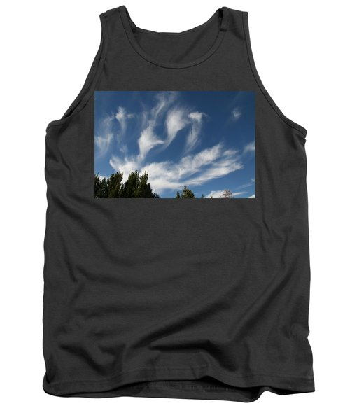 Tank Top featuring the photograph Clouds by David S Reynolds