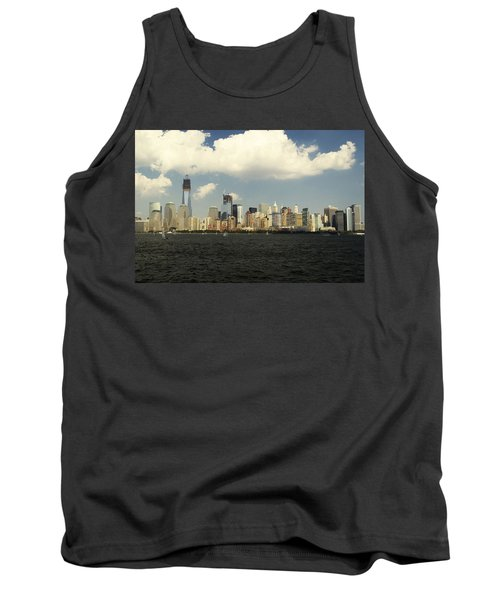 Clouds Over New York Skyline Tank Top