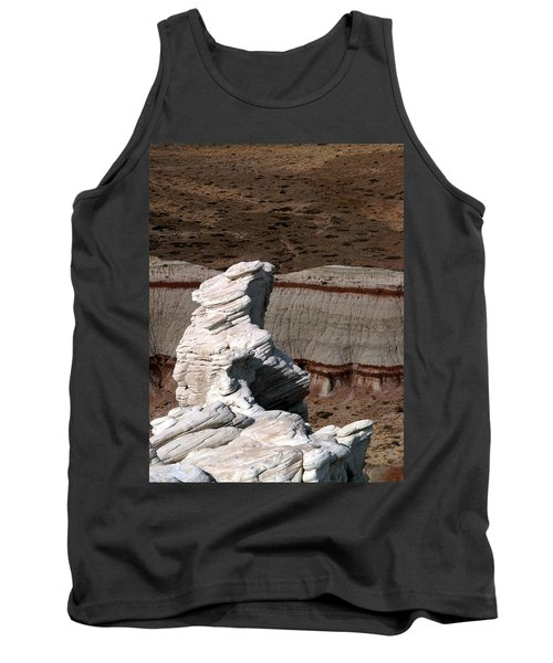 Tank Top featuring the photograph Coal Mine Mesa 14 by Jeff Brunton
