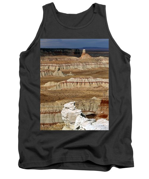 Tank Top featuring the photograph Coal Mine Mesa 19 by Jeff Brunton