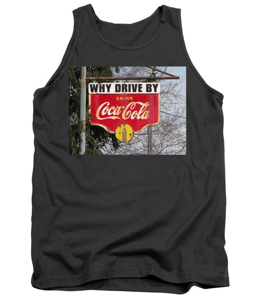 Coca-cola Sign Tank Top
