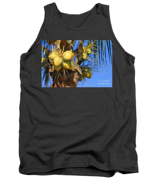 Tank Top featuring the photograph Coconut 2 by Teresa Zieba