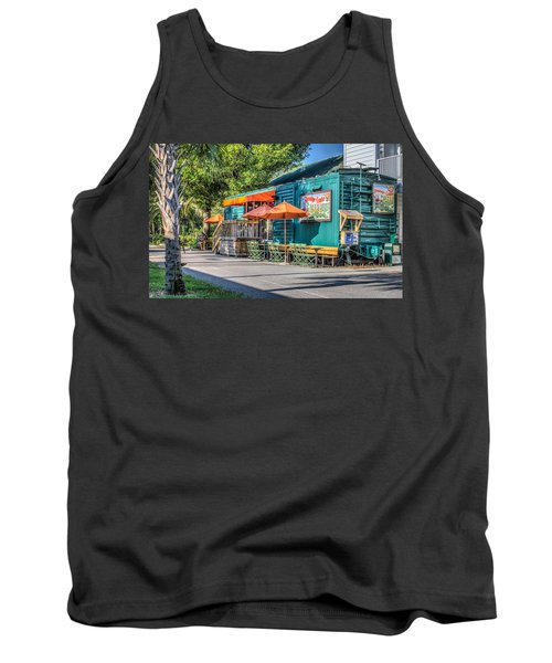Coffee Shop Tank Top by Jane Luxton