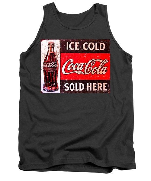 Coke Tank Top by Reid Callaway