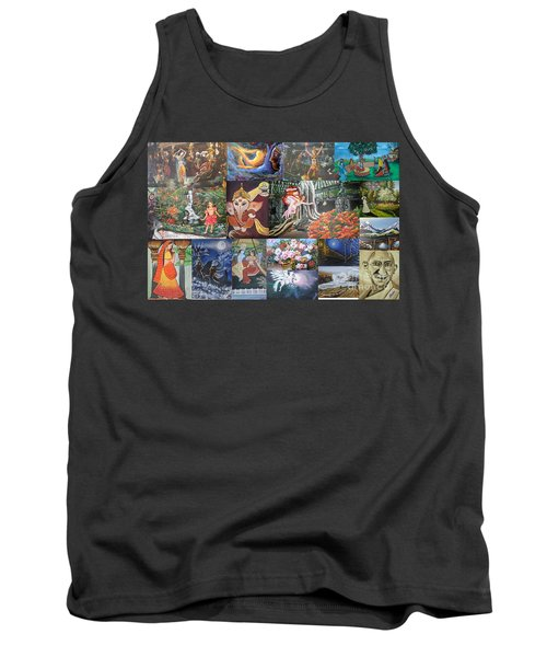Collection Of Paintings Tank Top