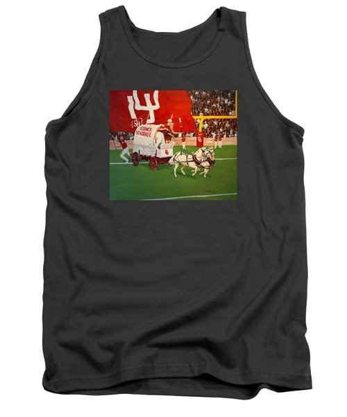 College Football In America Tank Top by Alan Lakin