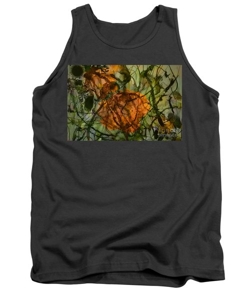 Color Abstraction Xx Tank Top by David Gordon
