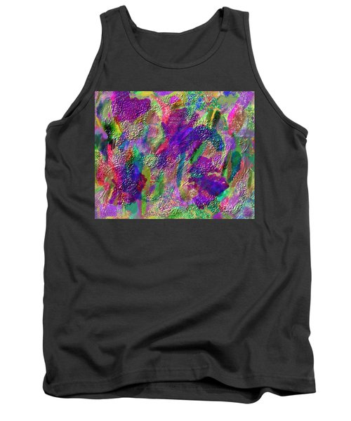 Color Dream Play Tank Top by Penny Lisowski