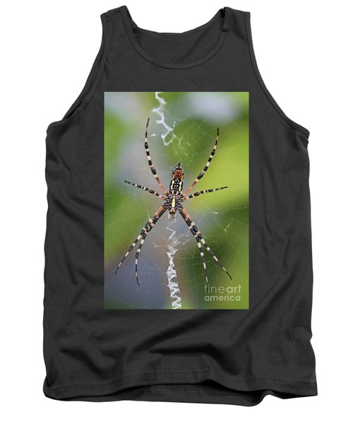 Colorful Spider Tank Top