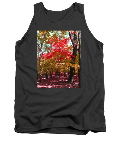 Colorful Woodland Tank Top