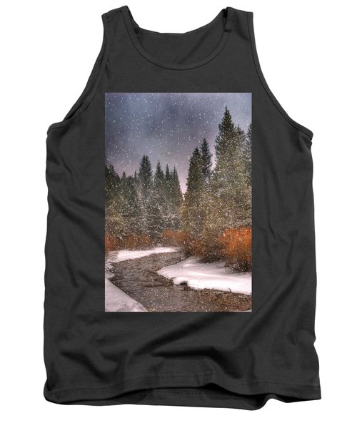 Colours Of Winter Tank Top by Juli Scalzi