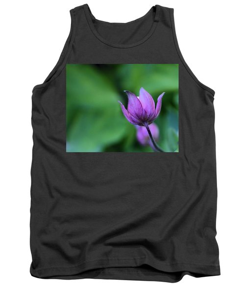 Columbine Flower Bud Tank Top