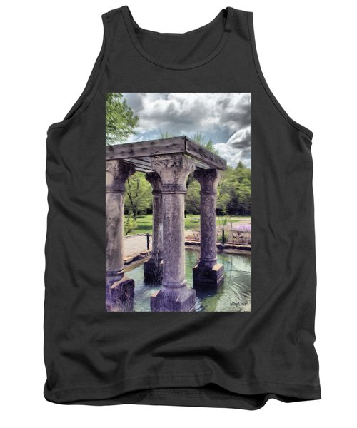 Columns In The Water Tank Top