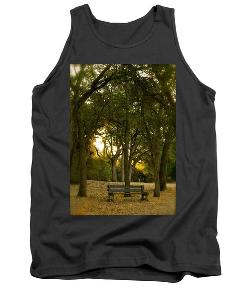 Come Sit Awhile Tank Top by Michele Myers