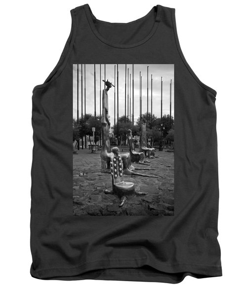 Tank Top featuring the photograph Come Sit With Us by Lynn Palmer
