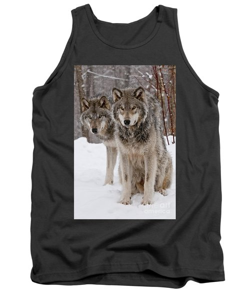 Companions Tank Top by Wolves Only