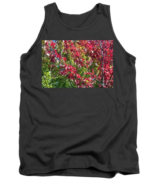 Tank Top featuring the photograph Complimentary Colors by Debbie Hart