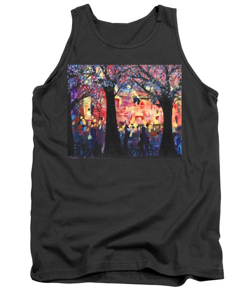 Concert On The Mall Tank Top by Leela Payne