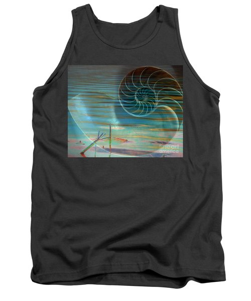 Tank Top featuring the photograph Conch by Irma BACKELANT GALLERIES