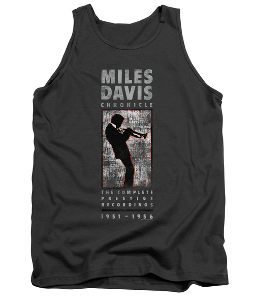 Concord Music - Miles Silhouette Tank Top