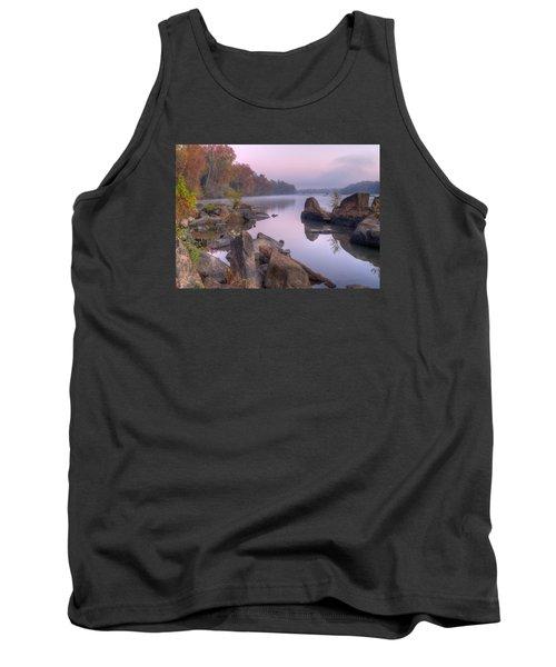 Congaree River At Dawn-1 Tank Top by Charles Hite