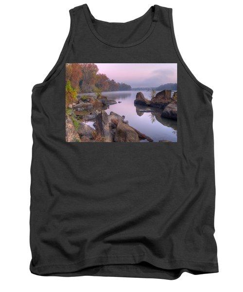 Congaree River At Dawn-1 Tank Top