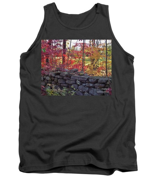 Connecticut Stone Walls Tank Top