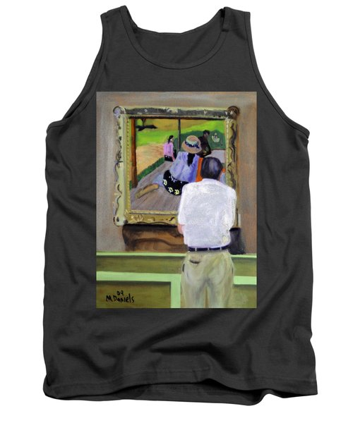 Contemplating Gauguin Tank Top by Michael Daniels