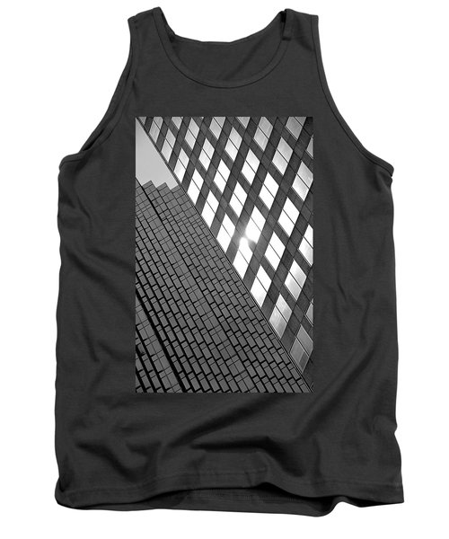 Contrasting Architecture Tank Top by Valentino Visentini
