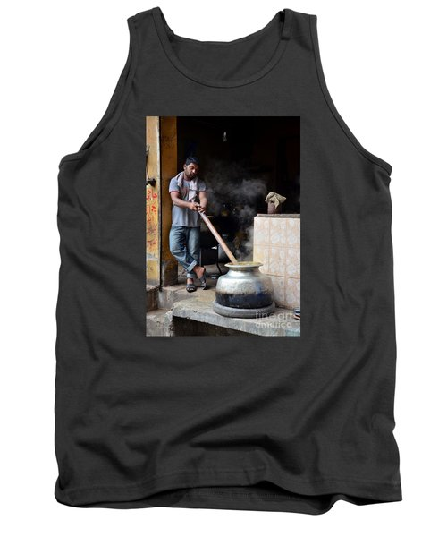 Cooking Breakfast Early Morning Lahore Pakistan Tank Top by Imran Ahmed
