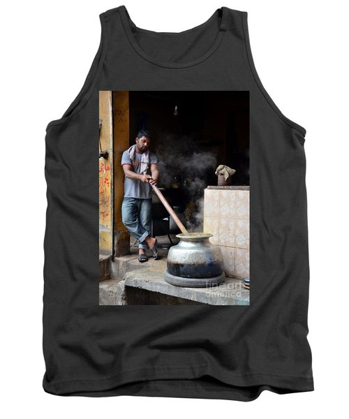 Cooking Breakfast Early Morning Lahore Pakistan Tank Top