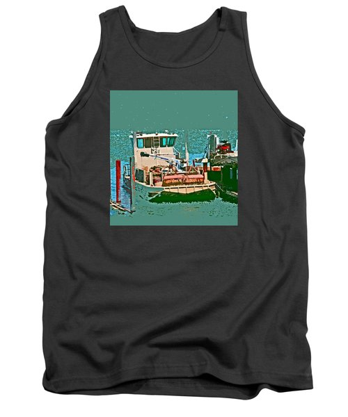 Coos Bay Oyster Farm Tank Top
