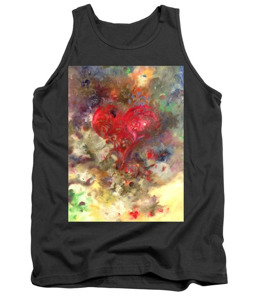 Corazon Tank Top by Julio Lopez