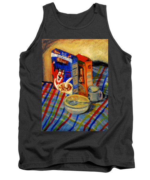 Corn Flakes Tank Top by Michael Daniels
