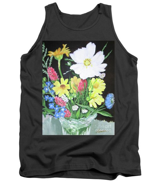 Cosmos And Her Wild Friends Tank Top