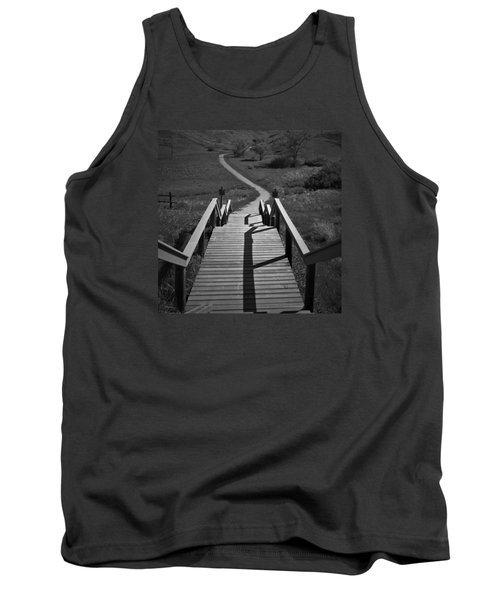 Coulee Stairs Tank Top by Donald S Hall
