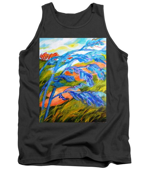 Count The Wind Tank Top by Betty M M   Wong
