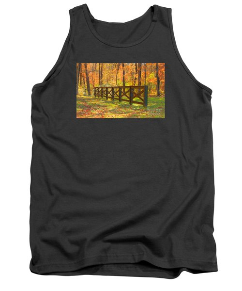 Tank Top featuring the photograph Country Fence by Geraldine DeBoer