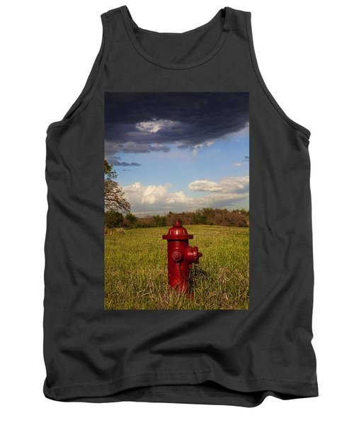 Country Fire Hydrant Tank Top