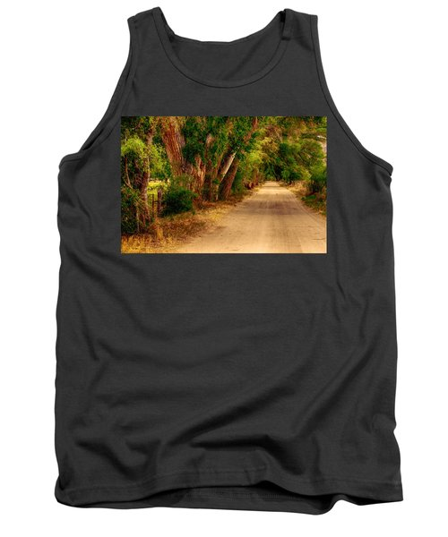 Country Road Tank Top by Fred Larson