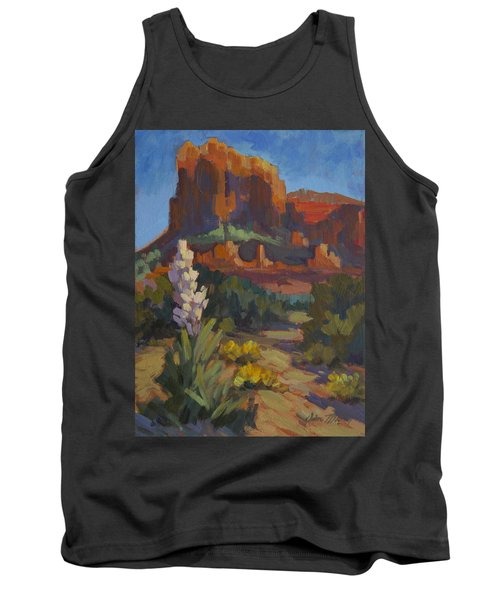 Courthouse Rock Sedona Tank Top
