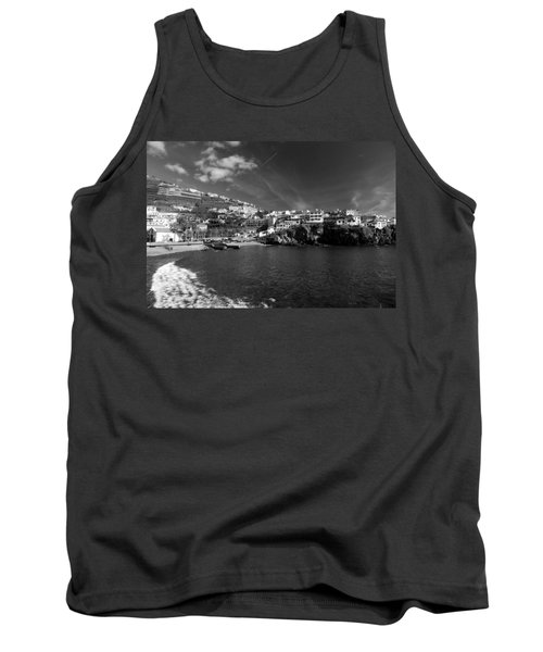 Cove In Black And White Tank Top