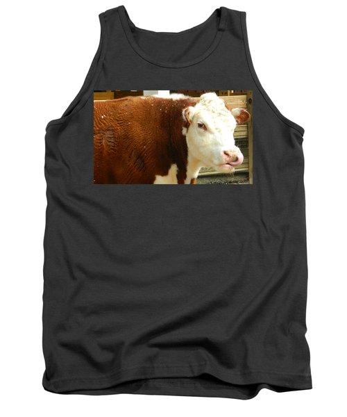 Cow Lickin' Good Tank Top