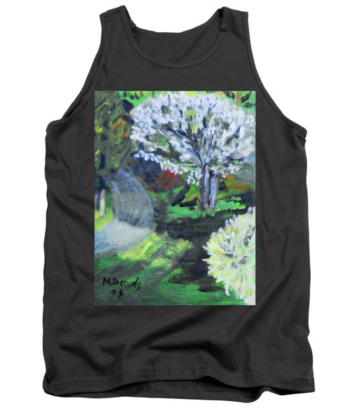 Crab Apple Tree Tank Top by Michael Daniels