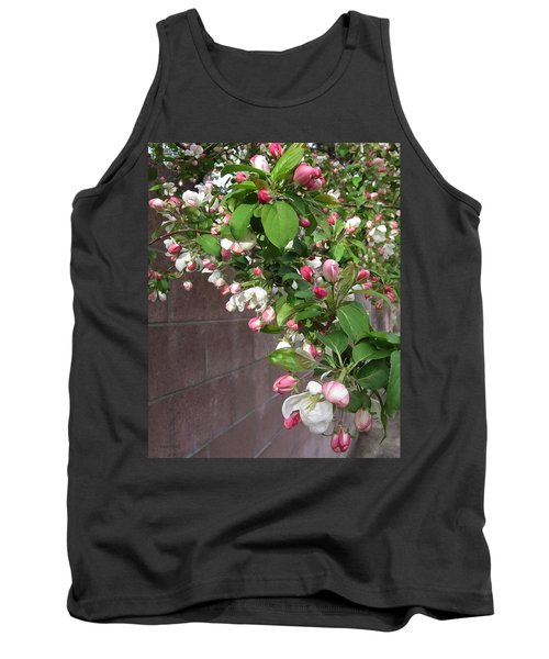 Crabapple Blossoms And Wall Tank Top