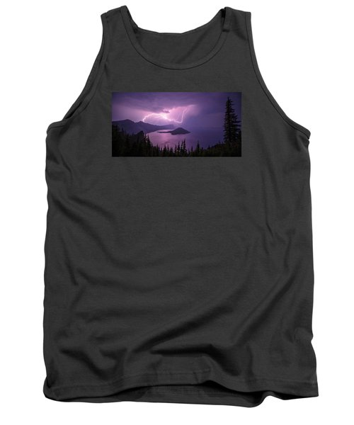 Crater Storm Tank Top by Chad Dutson
