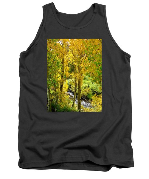 Tank Top featuring the photograph Creekside by Marilyn Diaz