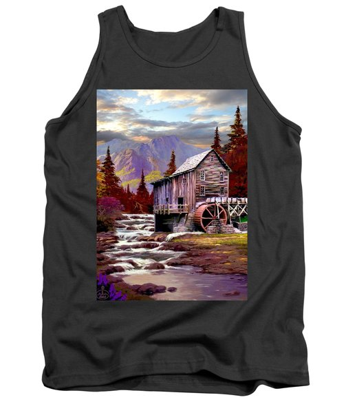 Creekside Mill Tank Top by Ron Chambers