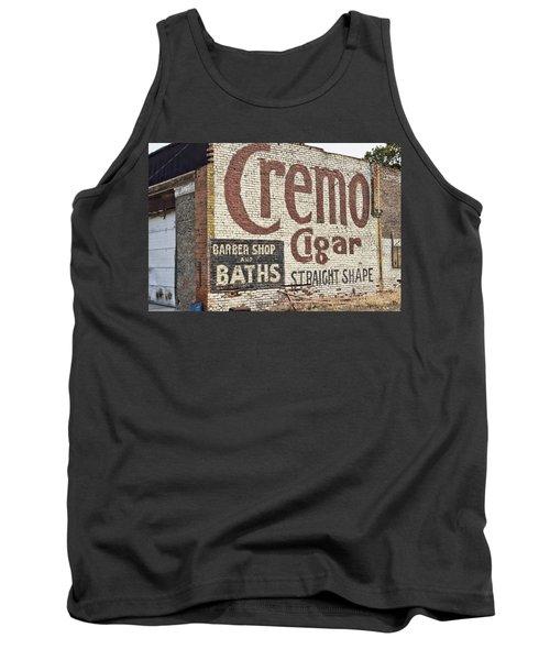 Cremo Cigar Tank Top by Cathy Anderson